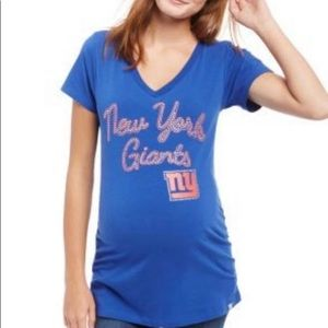 New In Touch Maternity NY Giants XL